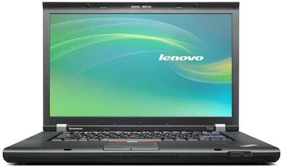 Lenovo W520 - Front View