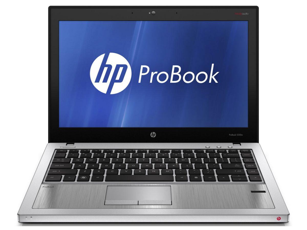 HP probook 5330M Front View