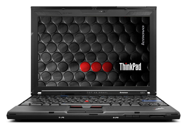Lenovo Thinkpad X201 - front view