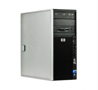 HP Z400 Workstation - Front view