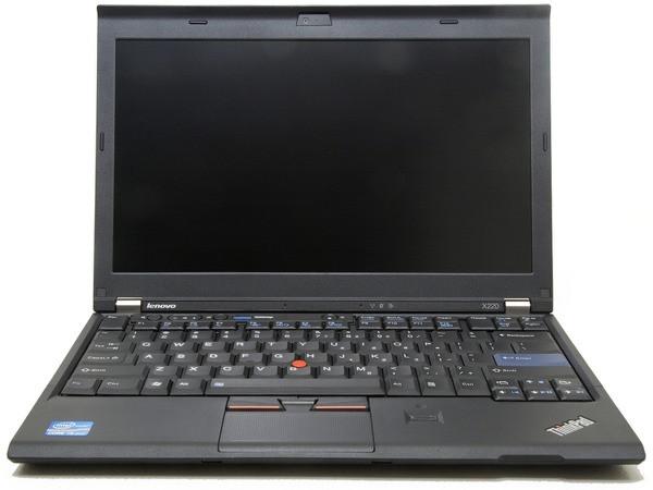 Lenovo Thinkpad X220 Core I5 - Front View