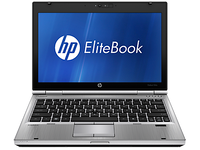HP Elitebook 2560p laptop - Display and keyboard
