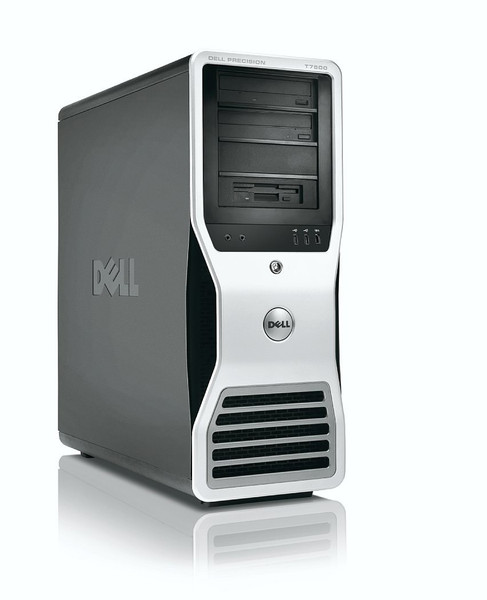 Dell Precision T7500 - Front view (left)