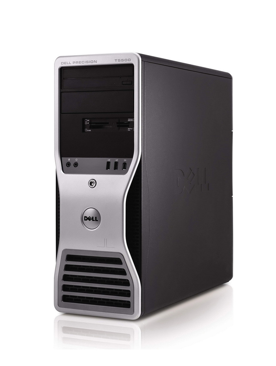 Dell Precision T7500 - Front view (right)