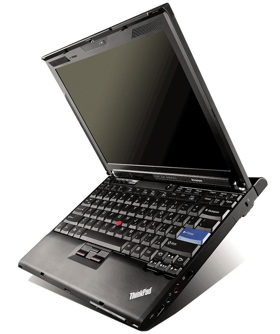 Lenovo Thinkpad X200 - right side view