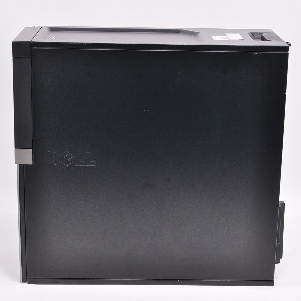Refurbished Dell optiplex 980 Mini Tower Quad Core i7 - Side case view