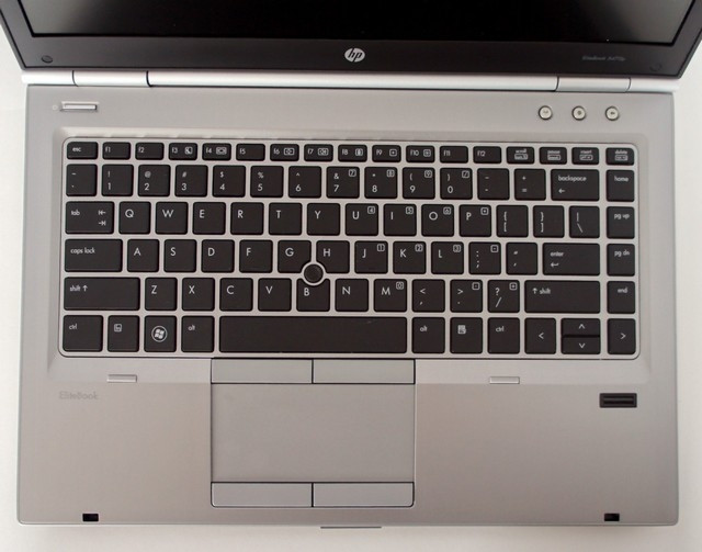 HP Elitebook 8470p Keyboard View