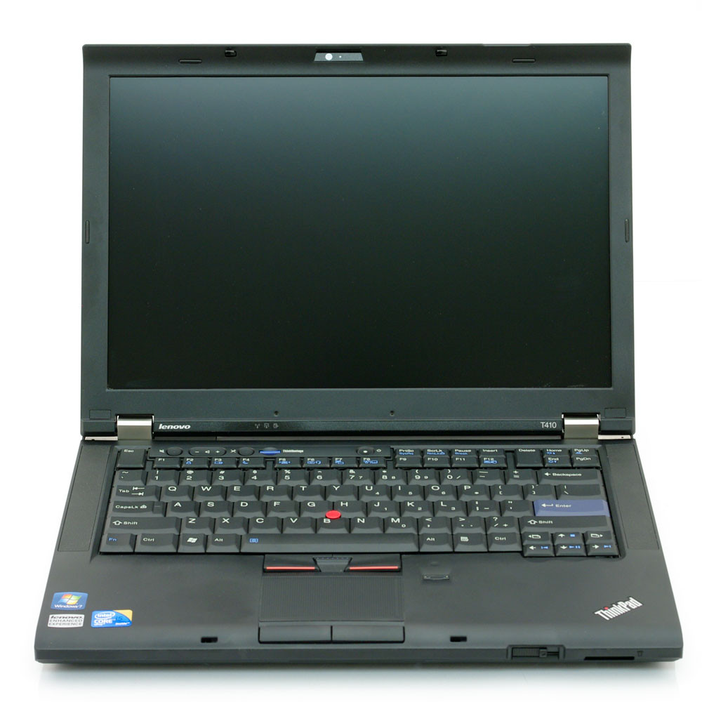 Lenovo Thinkpad T410i front view