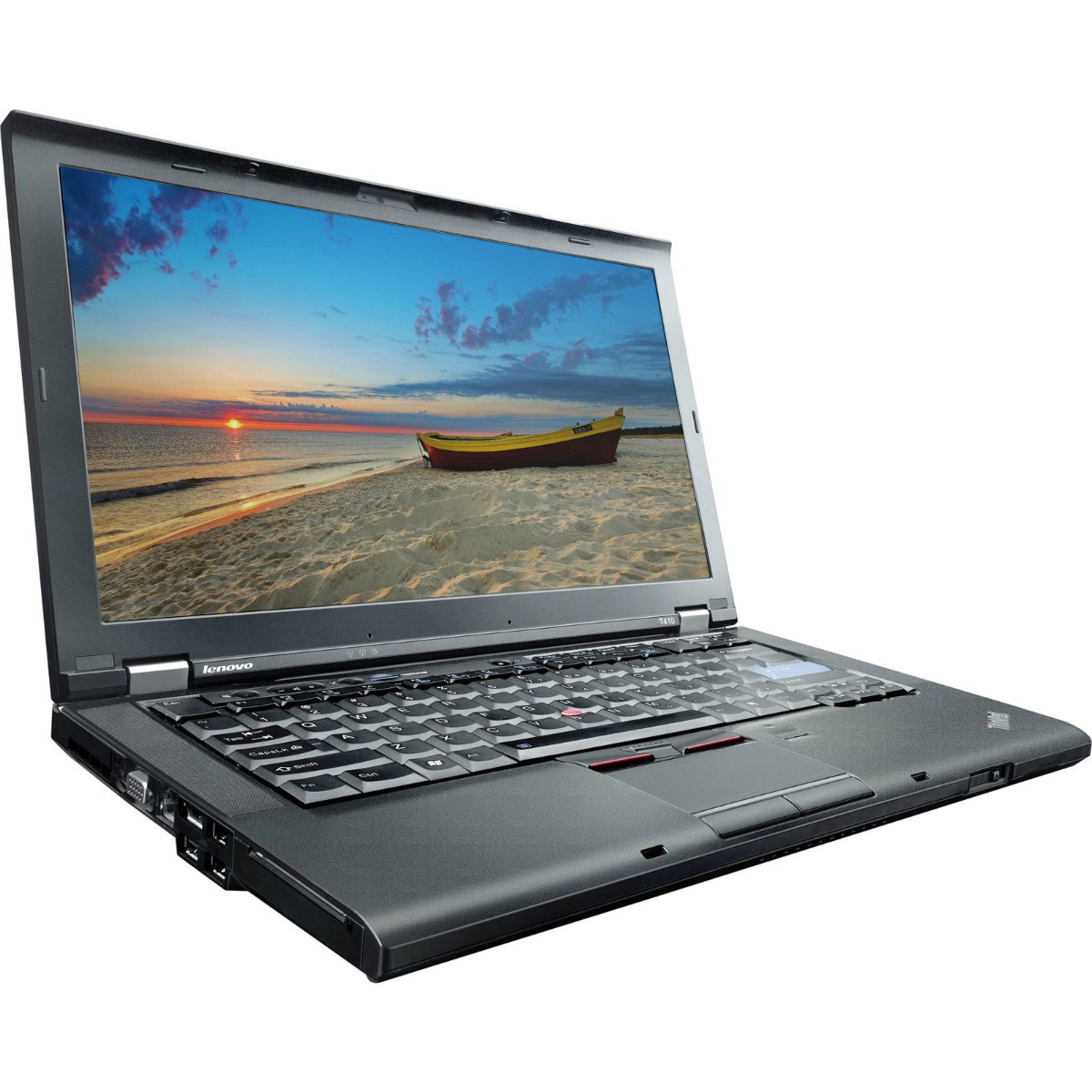 Lenovo Thinkpad T410i left side