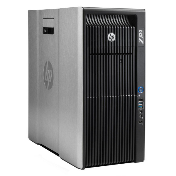 HP Z820 Workstation - left-side view