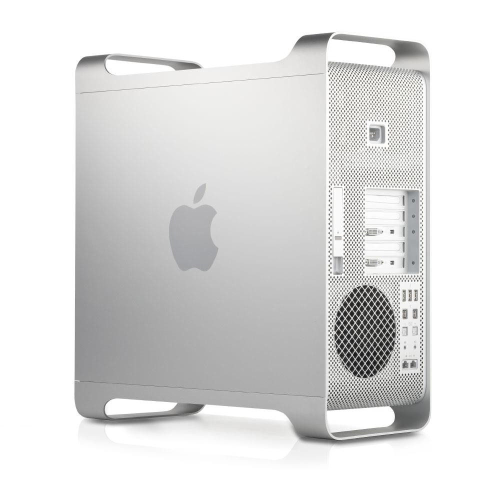 Apple Power Macintosh Intel Xeon Quad Core 2.66-Mac-Tower-Back View