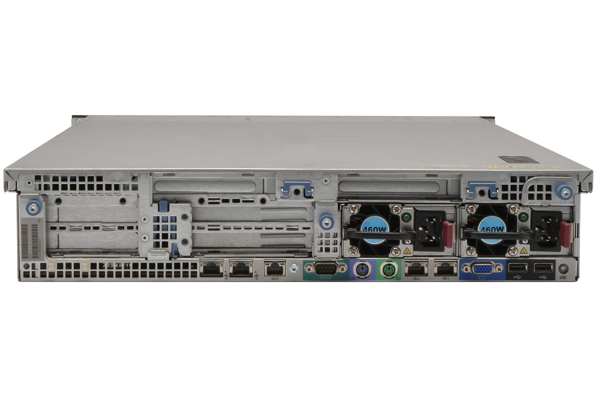 HP PROLIANT DL360 G6 (CTO) RACK SERVER 494329-B21 - rear view