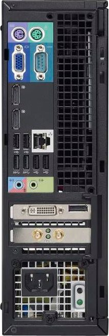 Dell Optiplex 7010 SFF-Core i5 -(Configure to Order)-intel- Desktop-back-rear view
