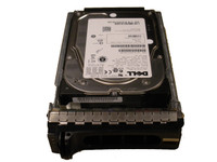 Dell 300GB 3.5'' SAS 15K Hard Drive N226k - FRONT VIEW