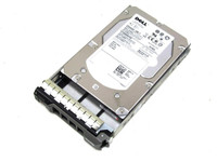 Dell 600GB 3.5'' SAS 15K Hard Drive J762N 9fn066 - 050 - FRONT TOP VIEW