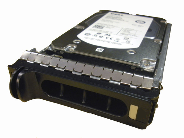 DELL 300GB 3.5'' SAS 10K HARD DRIVE 6Gbps HOT SWAP HT954 - 9dj066-054 -front view