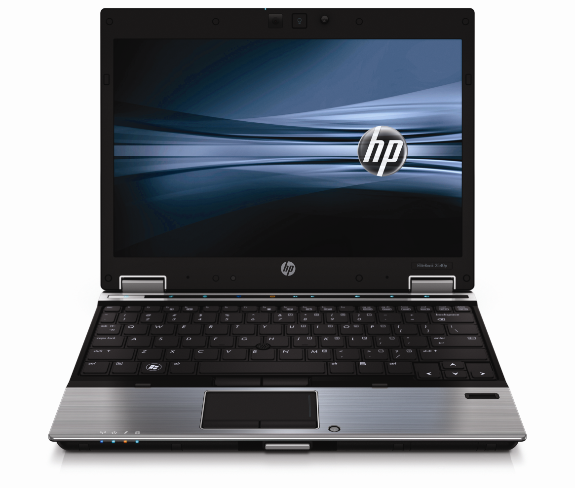 Hp Elitebook 2540P Intel Core i7-640LM (Configure to Order) -front view