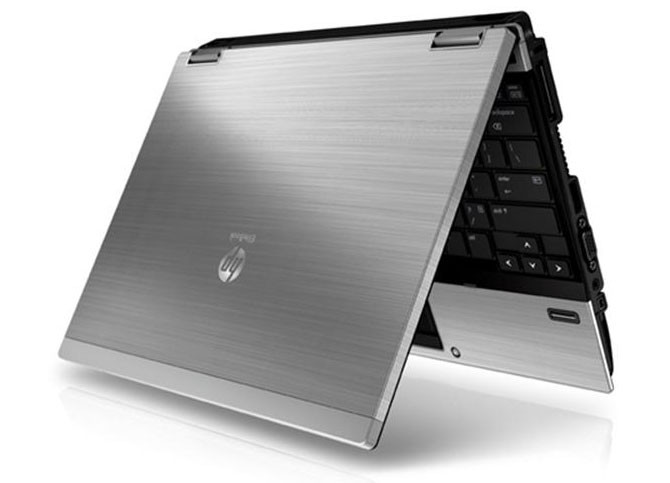 Hp Elitebook 2540P Intel Core i7-640LM (Configure to Order) - top view