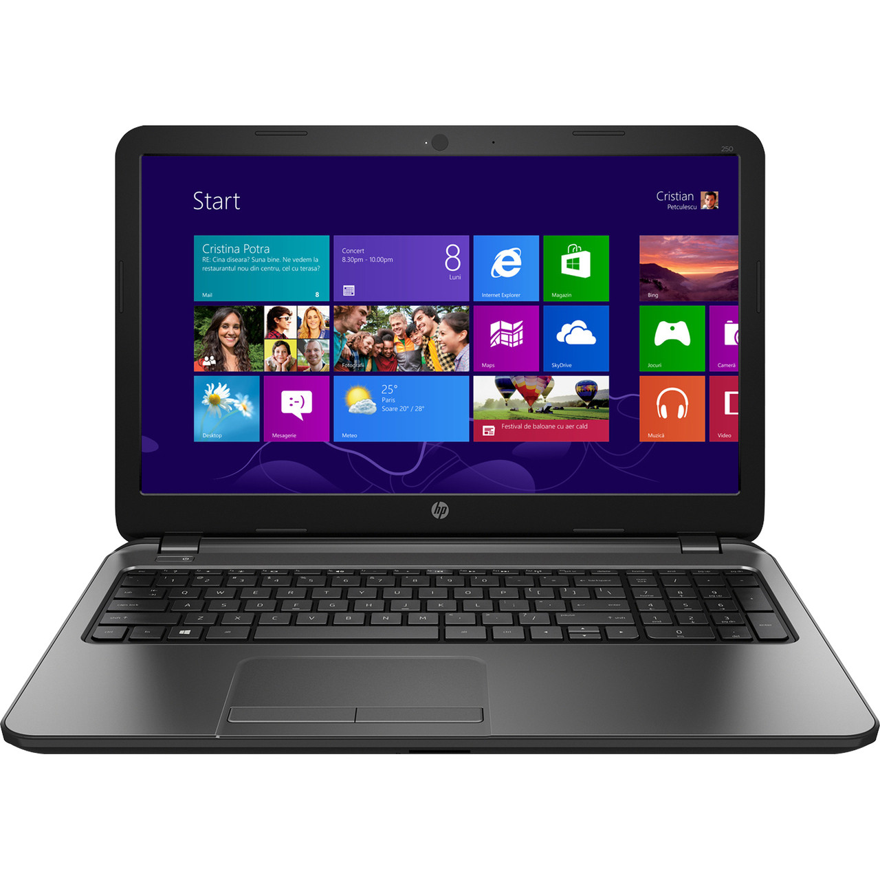 Hp notebook for sale - Hp 250 G2 Notebook Pc Intel Core I3 3110m Configure To Order Front