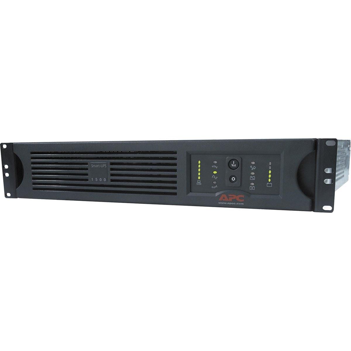 APC Smart-UPS 1500VA USB & Serial RM 2U 120V SUA1500RM2U - front view
