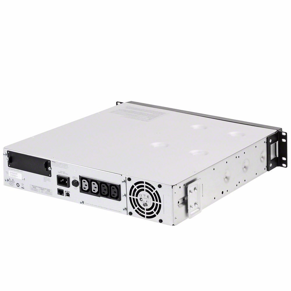 APC Smart-UPS 1500VA USB & Serial RM 2U 120V SUA1500RM2U - rear view
