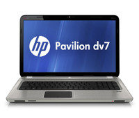 HP Pavilion dv7 Entertainment Laptop - front view