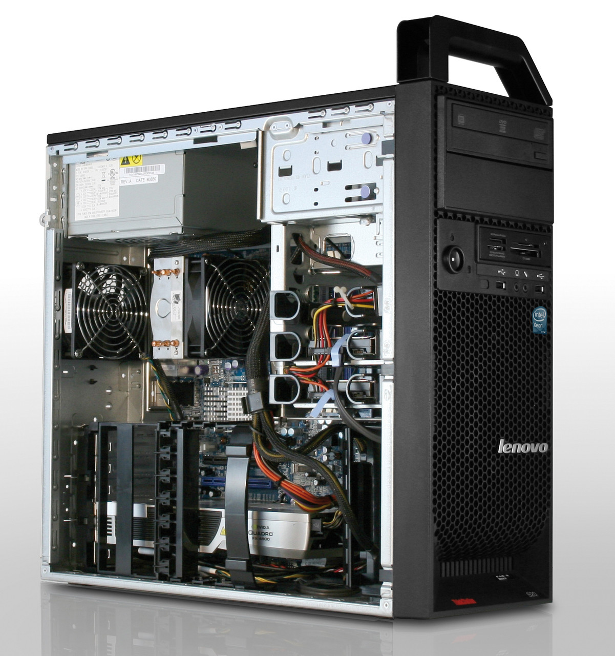 Lenovo ThinkCentre s20 - inside view