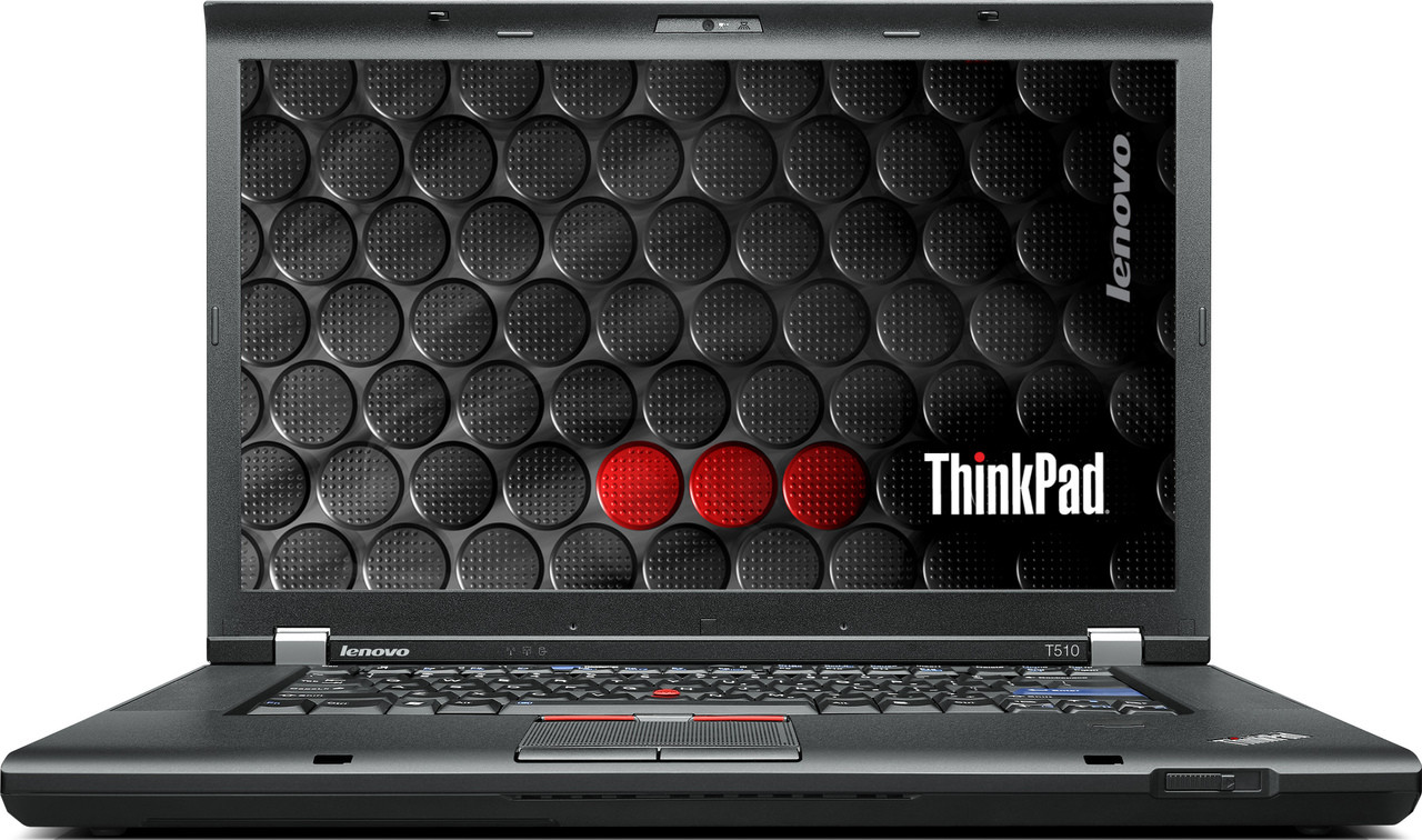 Lenovo Thinkpad T510 Laptop - front