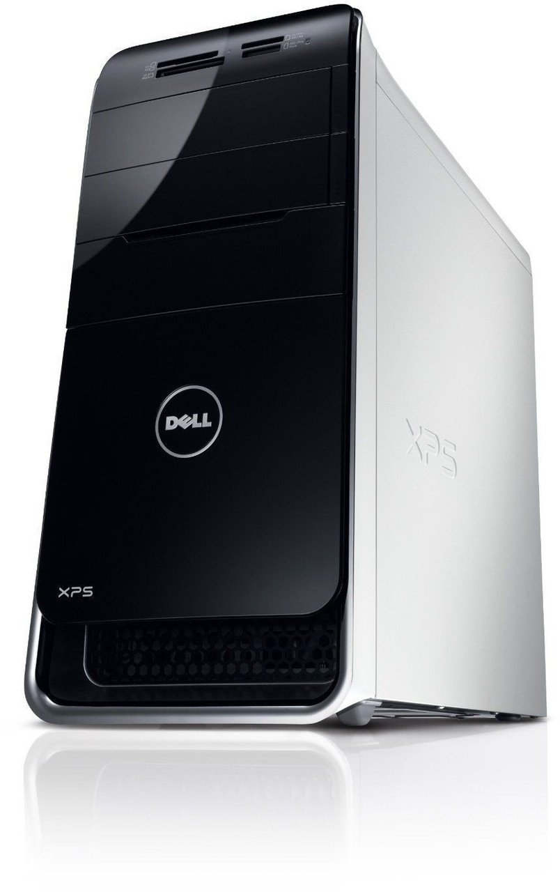 Dell XPS 8300 - front (down) view