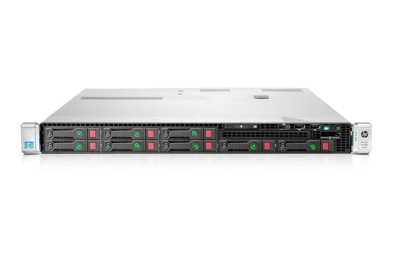 HP ProLiant DL360p G8 V1 654081-B21
