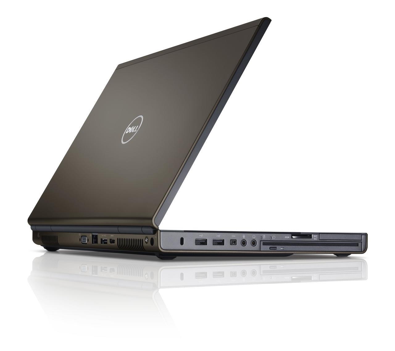 Dell Precision M4600 - Side Rear View