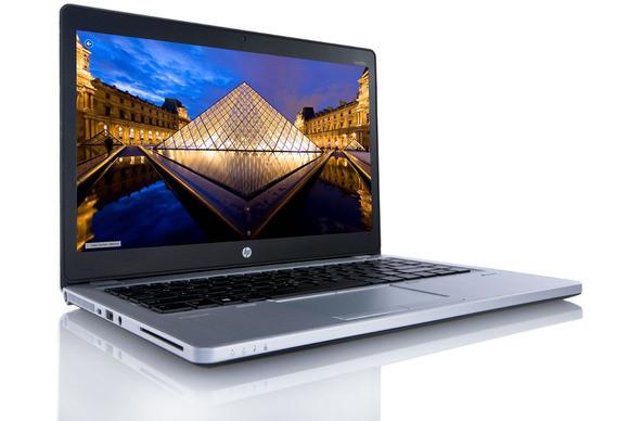 HP EliteBook Folio 9470m - Side Display View