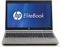 HP EliteBook 8560p - Front Display View