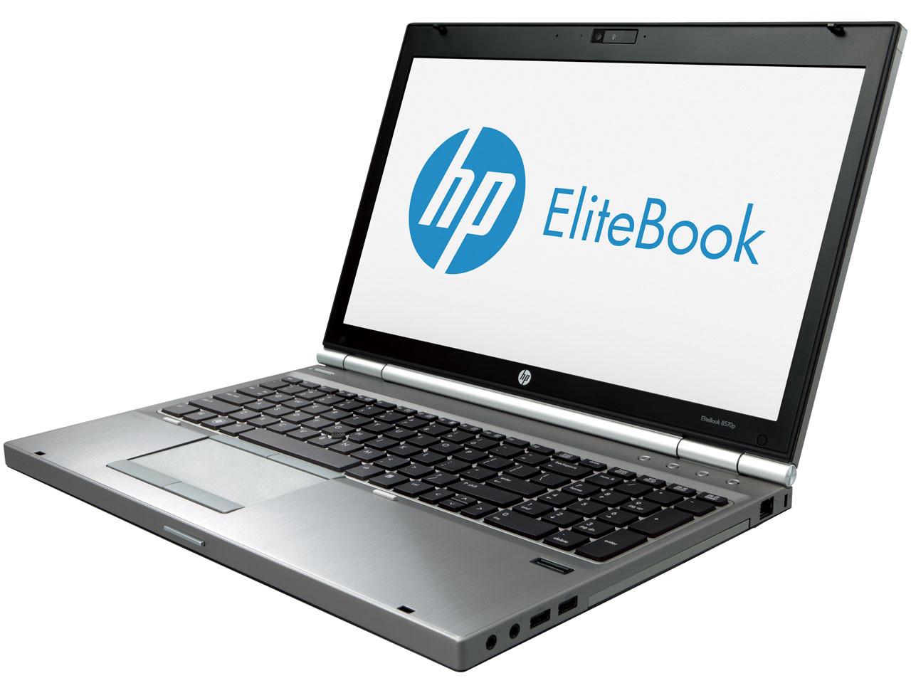 HP EliteBook 8570p - Side display view