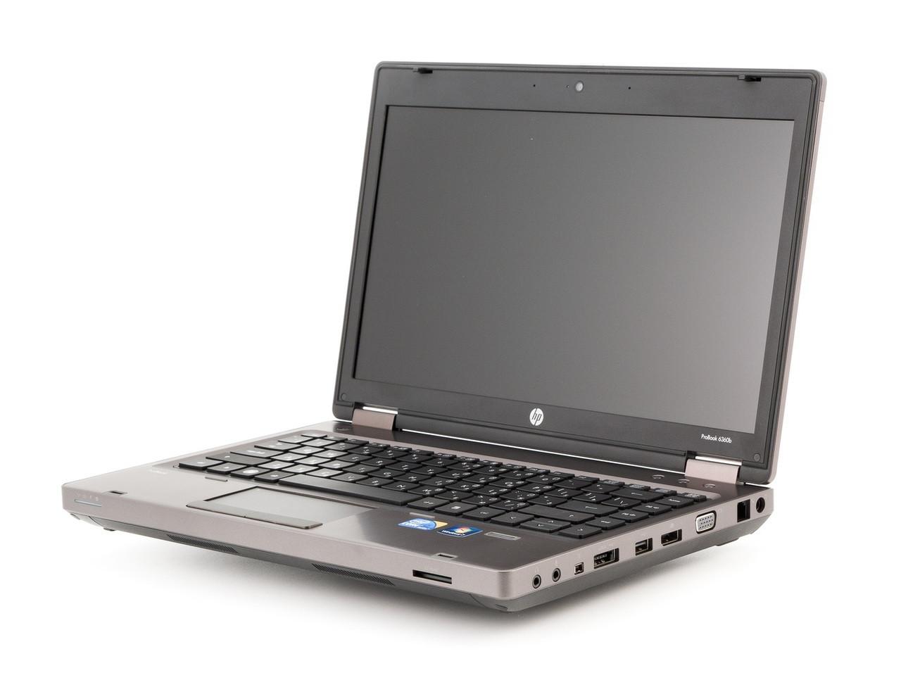 HP ProBook 6360b - Side Display View