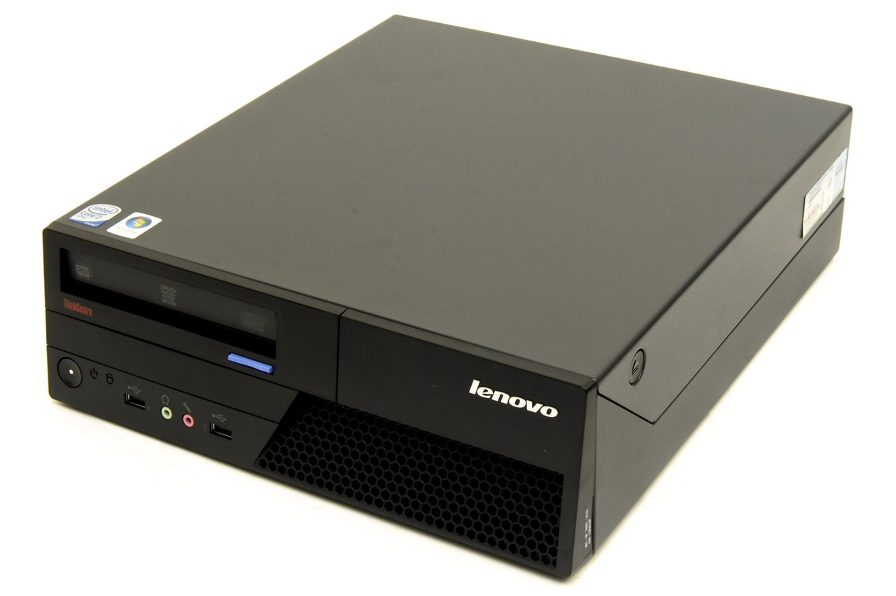 Lenovo ThinkCentre M58p SFF PC - Front right side view