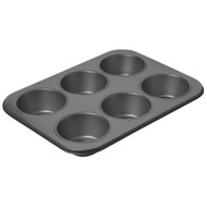 Chicago Metallic Non-Stick 6 Cup Giant Muffin Pan