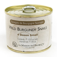 Wild Burgundy Snails 4 dozen small