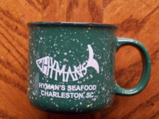 Hyman's Green Campfire Mug