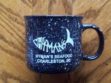 Hyman's Black Campfire Mug