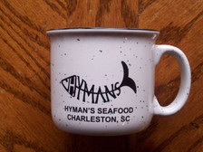 Hyman's White Campfire Mug
