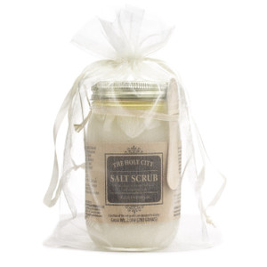 HAND & BODY SALT SCRUB In ORGANZA BAG