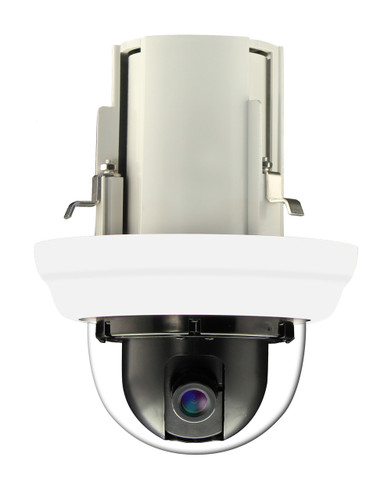 2MP In-Ceiling Repositionable IP Dome Camera with WDR