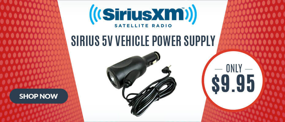 Sirius 5 volt vehicle power supply