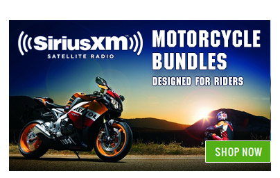 SiriusXM Satellite Radio Motorcycle Kits