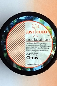 Citrus Coco Facial Mask