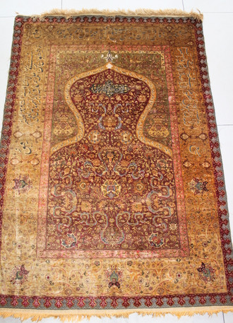 Antique Kum Kapi 160x 108 cm