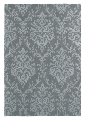 Sanderson Riverside Damask Pewter 46705