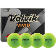 Volvik Vivid Green Golf Balls
