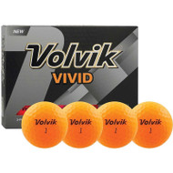 Volvik Vivid Orange Golf Balls
